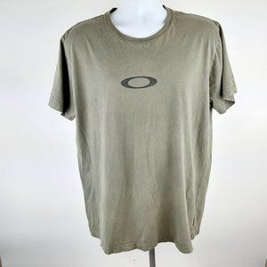 Oakley Men's T-shirt Size XL Olive Green RX12